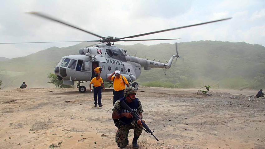 Mi-17 de la Armada Mexicana.
