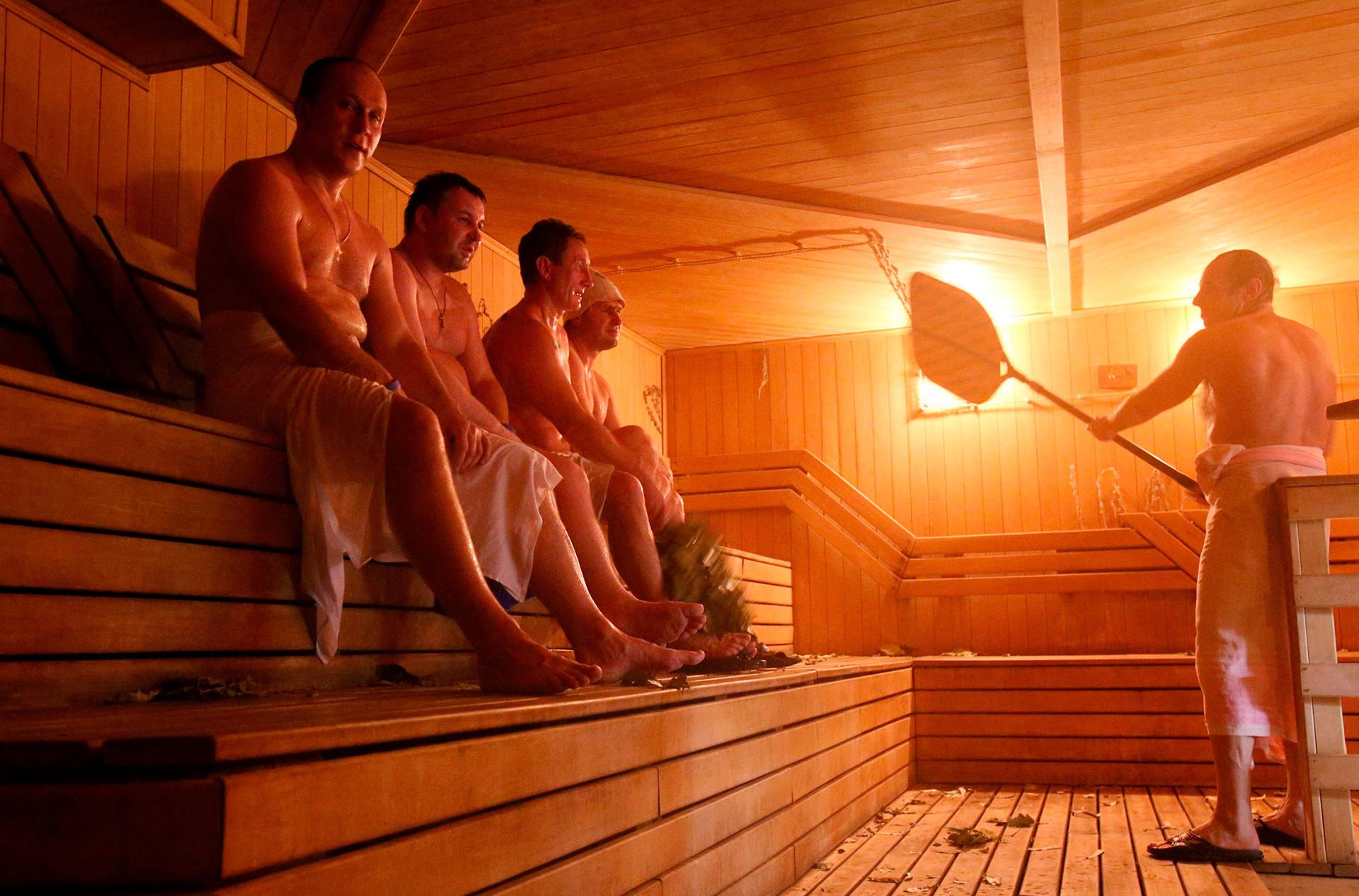 Bânia, a sauna russa