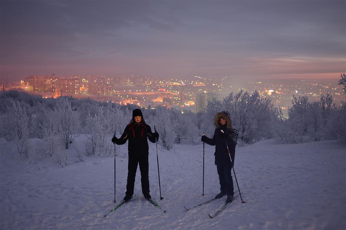 Há cerca de 30 cidades russas no Círculo Polar Ártico; Murmansk é a mais populosa delas