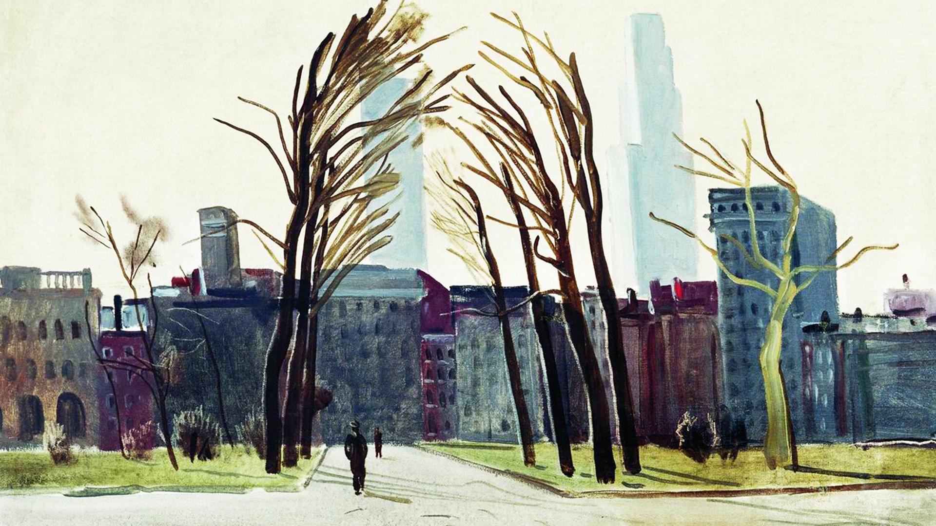 'Philadelphia. Old Square'