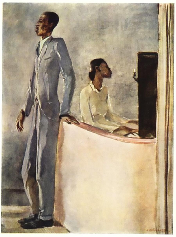 'Negro concert'