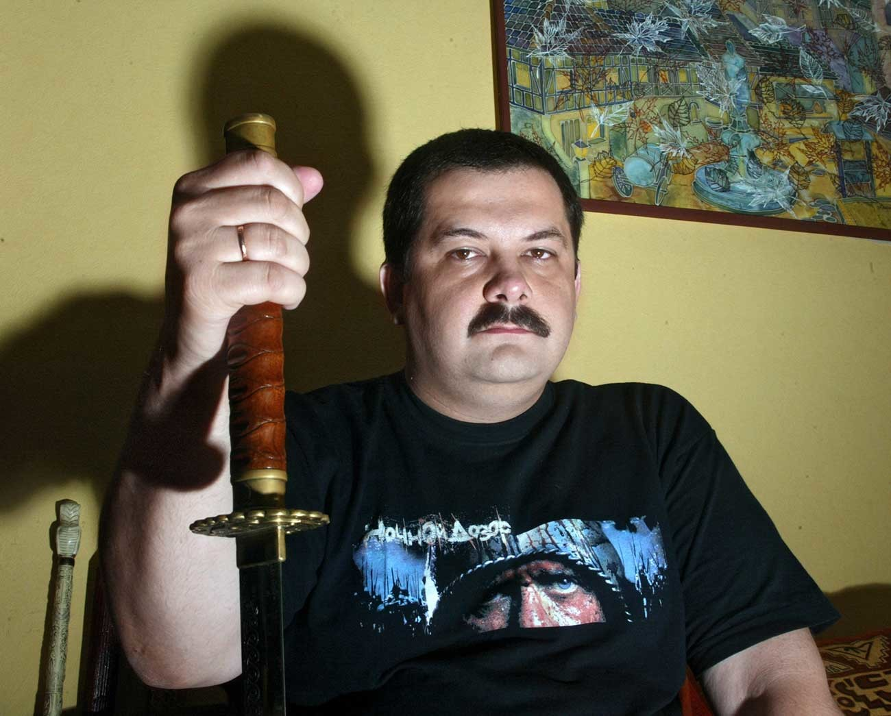 Lukiânenko escreve livros de terror.
