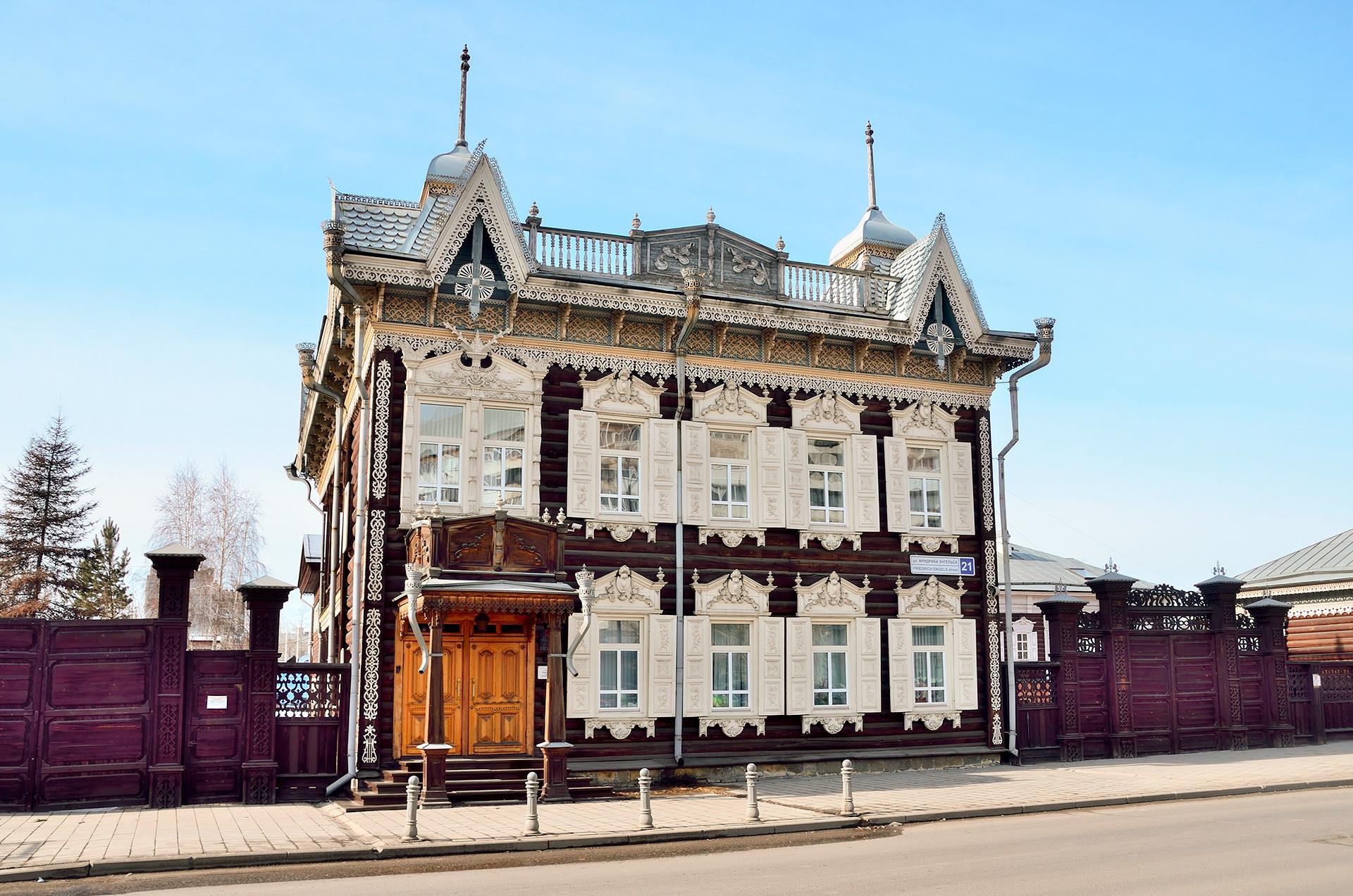 Rumah Eropa (Rumah Keluarga Shastin) di Irkurtsk