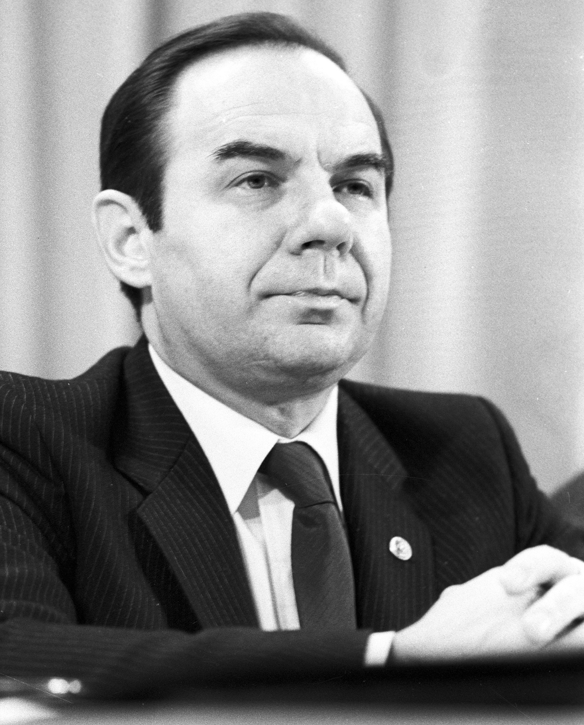 Anatoly Gromyko, a diplomat and Director of Institute for African Studies of USSR Academy of Sciences.