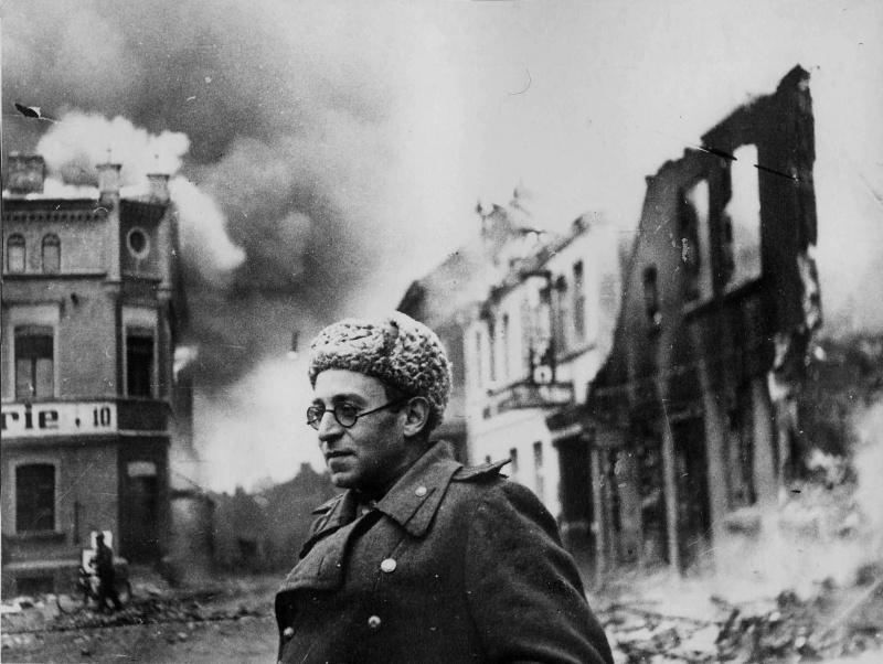 """Vassíli Grossman passou mais de mil dias na frente de batalha e escreveu sobre isso em seus livros, mas esses foram considerados """"antissoviéticos""""."""