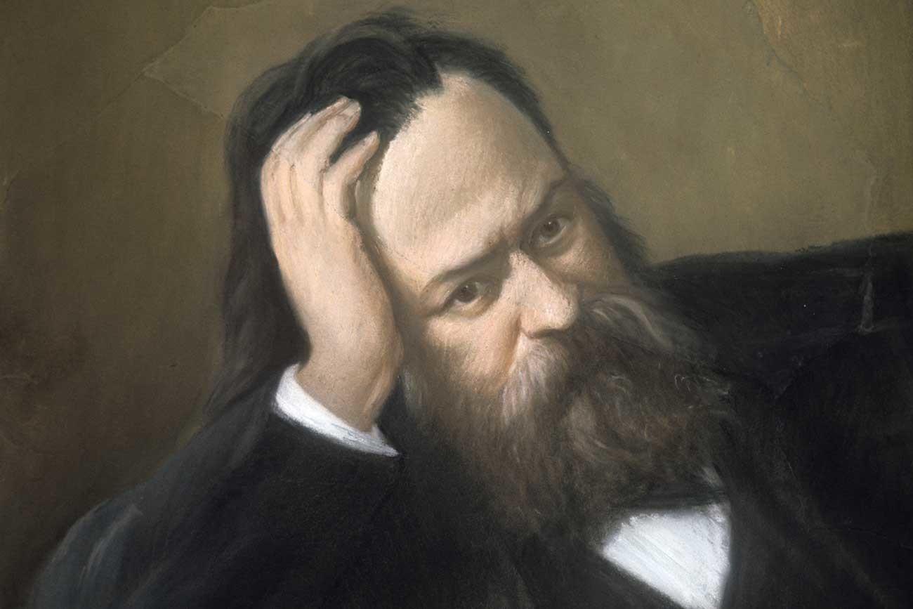 Aleksandr Herzen foi considerado, talvez erroneamente, um revolucionário.