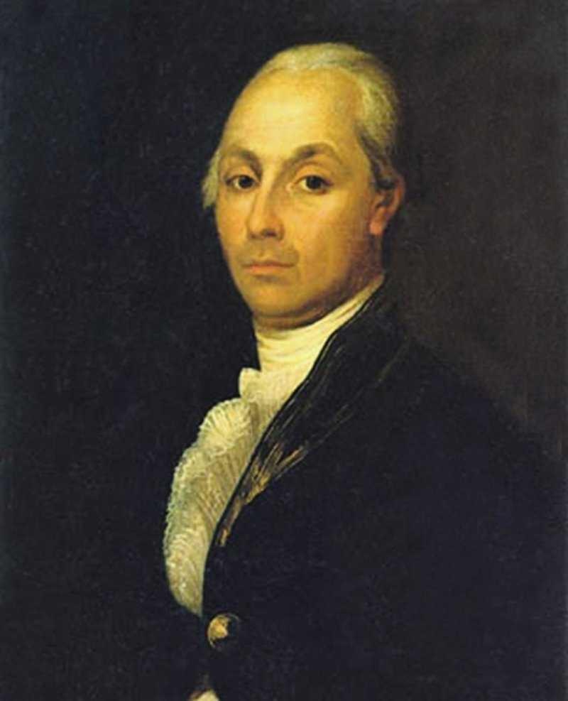 Aleksandr Radíchev foi enviado à Sibéria devido a suas críticas à terrível situação em que se encontravam os camponeses no século 18.