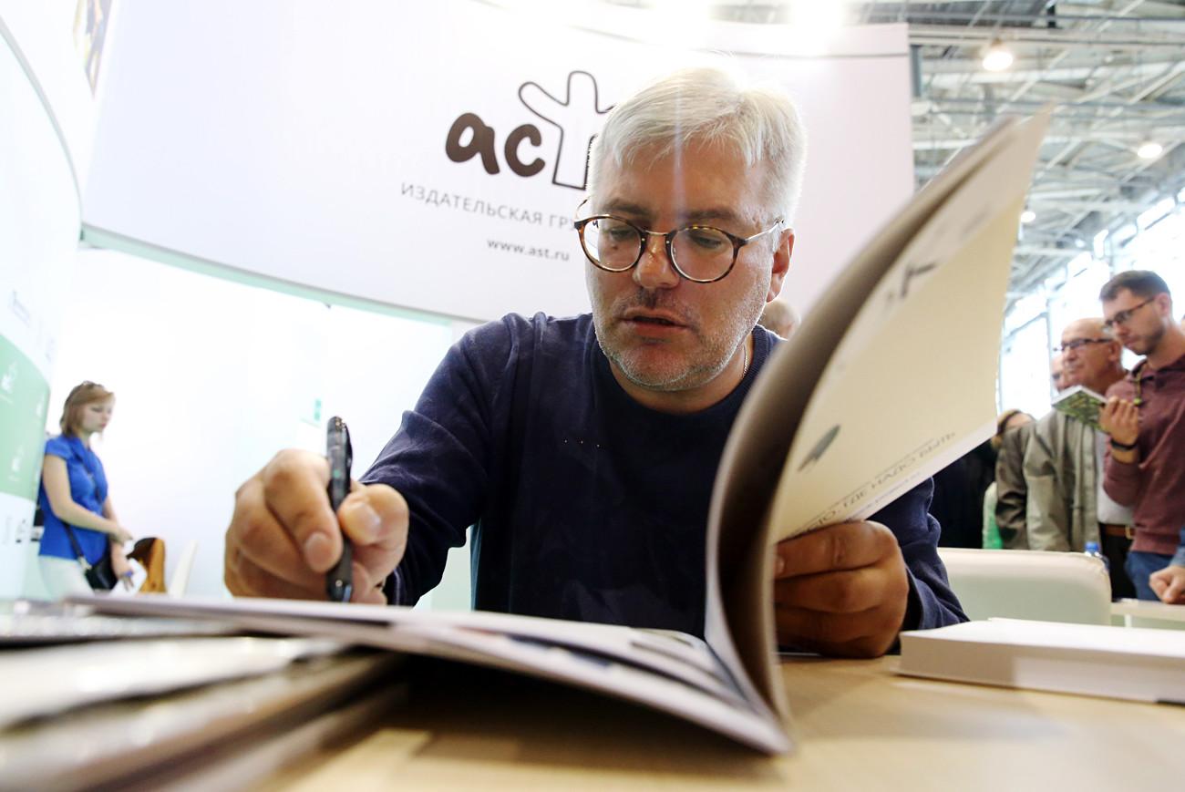 """Vodolázkin foi indicado ao """"Bolsháia kníga"""" de 2010."""