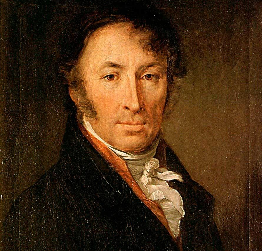 Karamzín retratado por Vasíly Tropínin.
