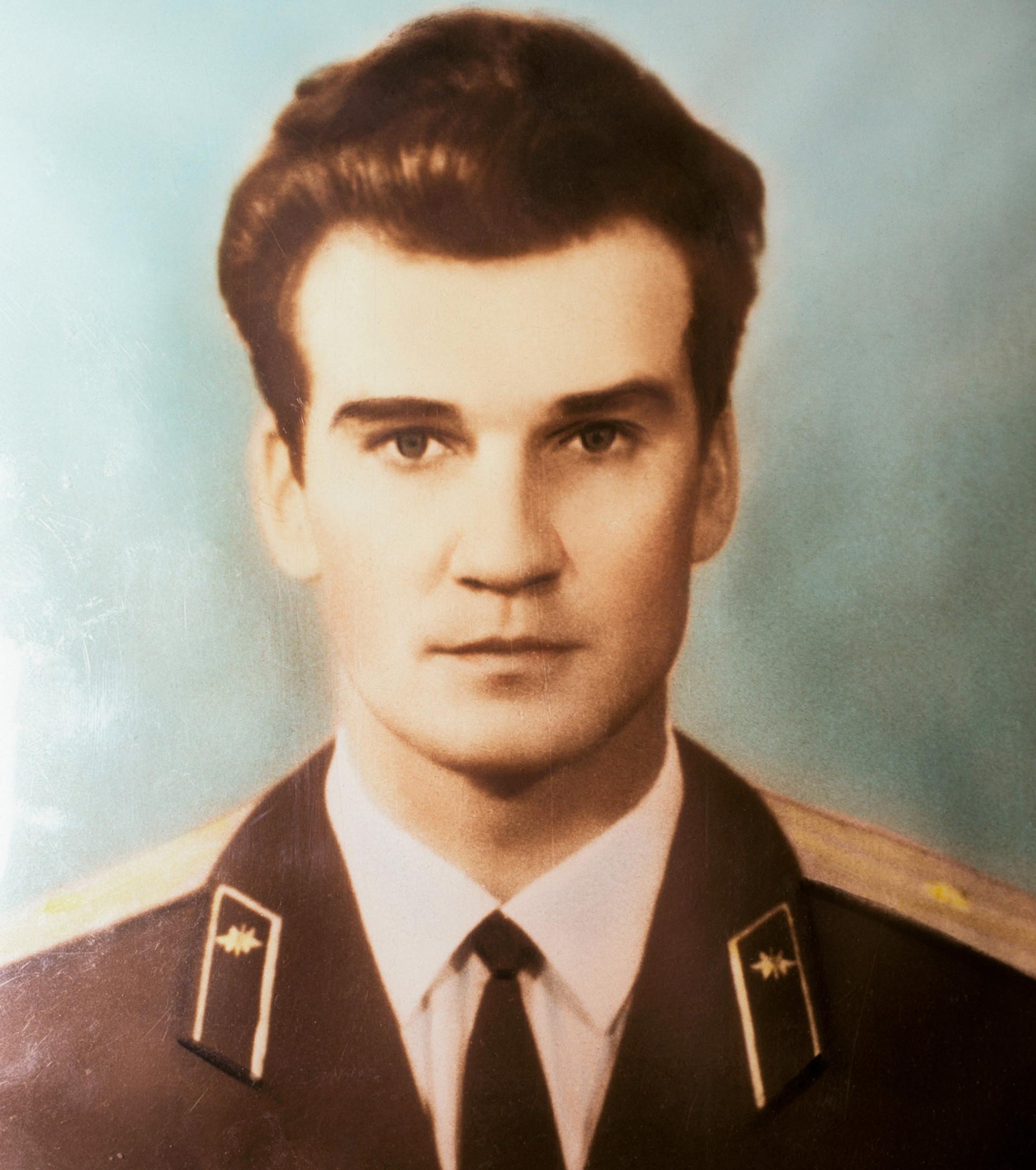 Stanislav Petrov da giovane