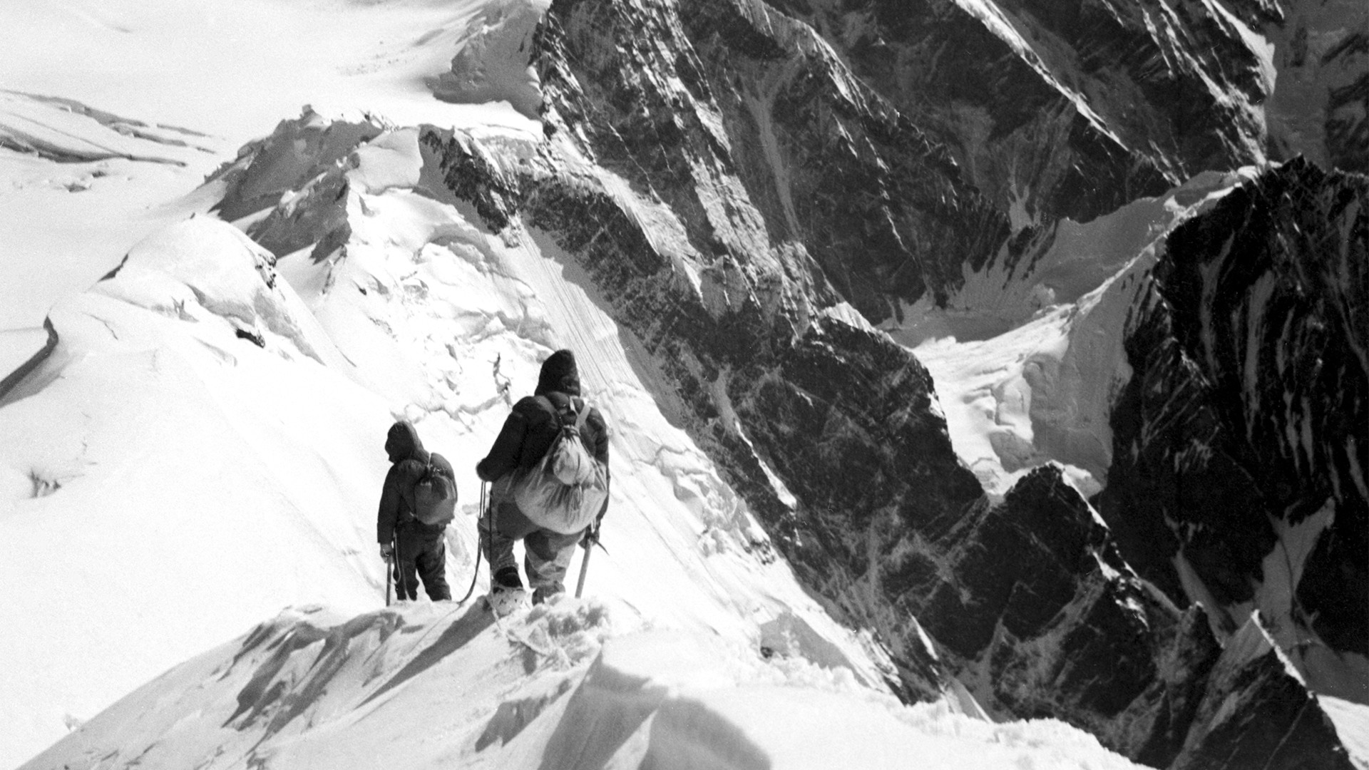 """In 1932 two alpinist groups came across a mysterious peak undocumented by previous expeditions - 7,495 m above sea level."""