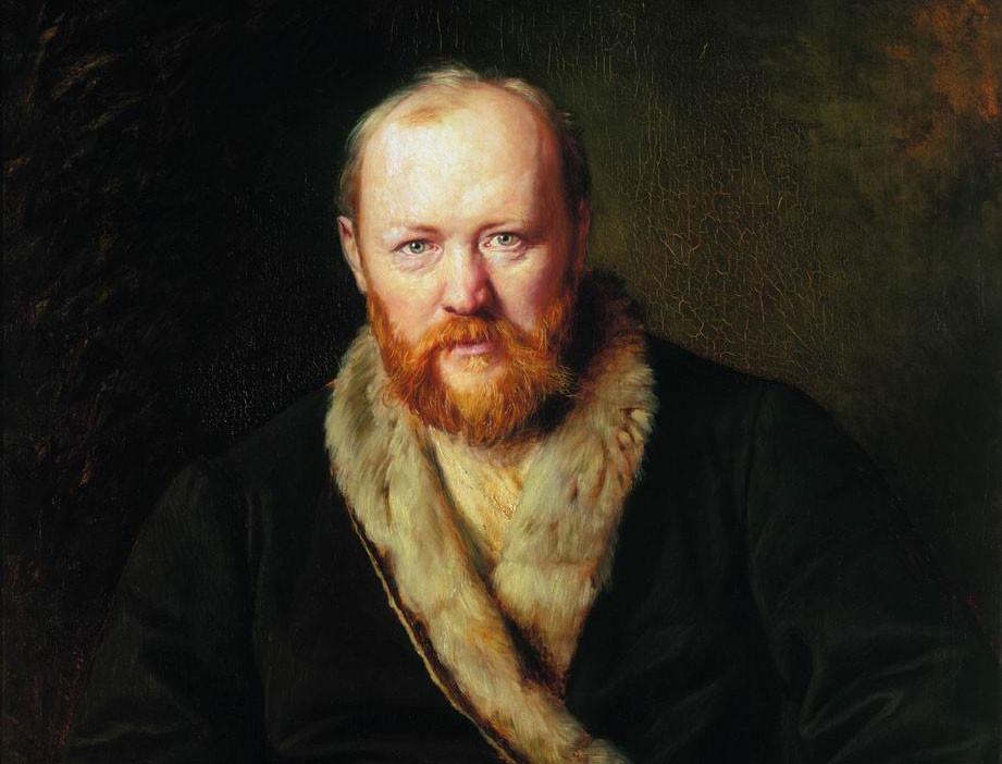 Ostróvski retratado por Vassíli Perov.