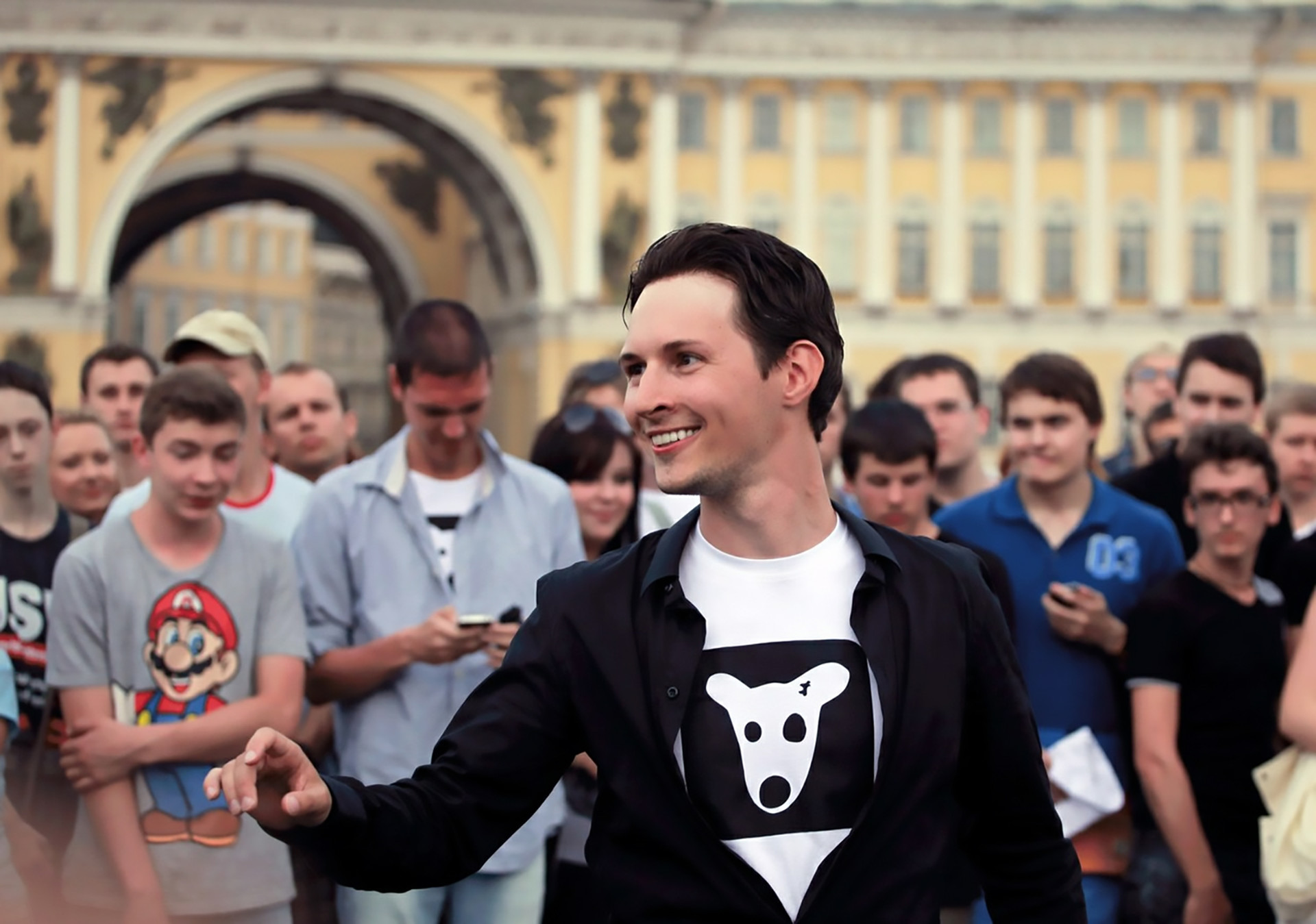 Durow in seiner Heimatstadt Sankt Petersburg