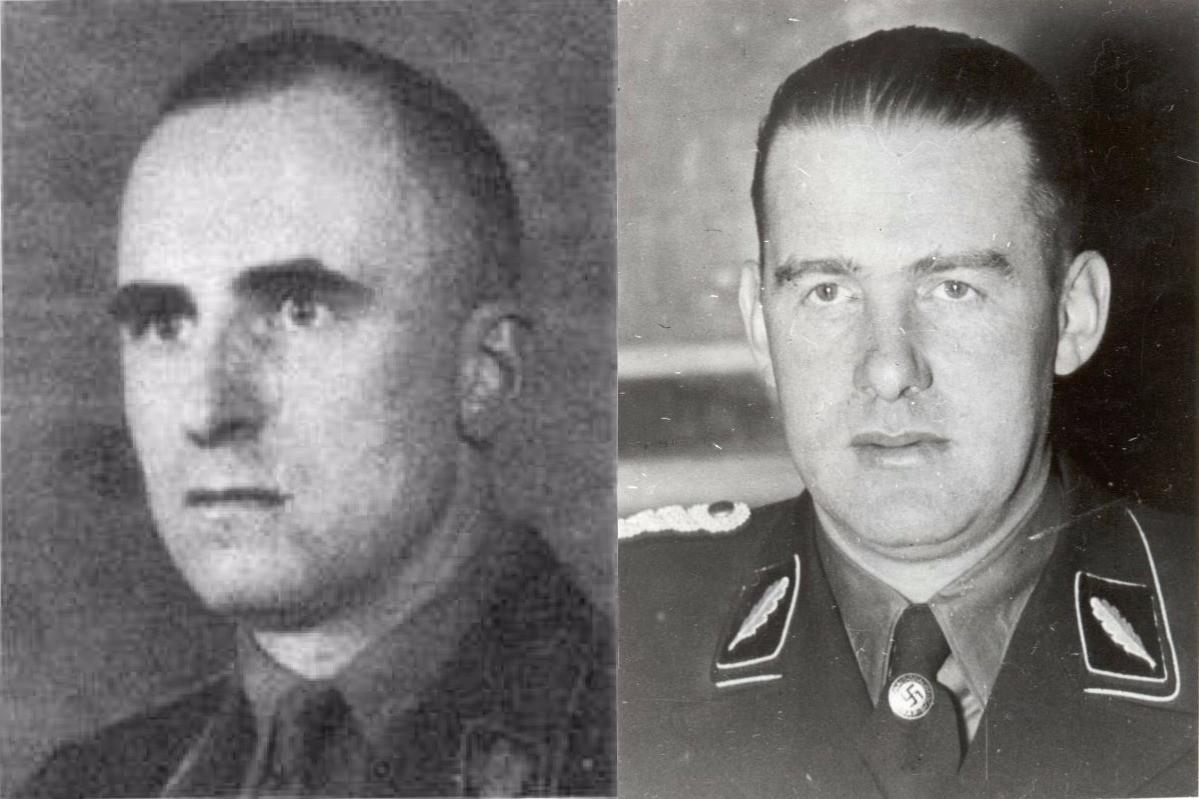Зигфрид Каше и Одило Глобочник