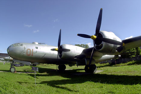 Ту-4 в Централния военновъздупен музей в Монино край Москва