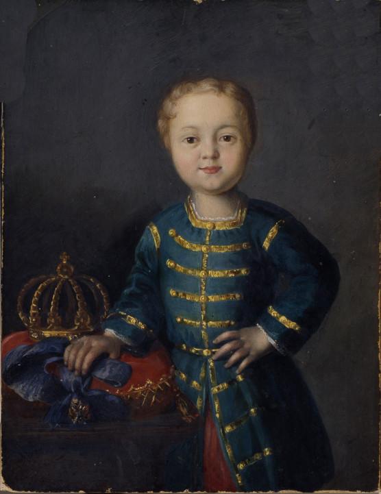 Retrato del Iván VI.