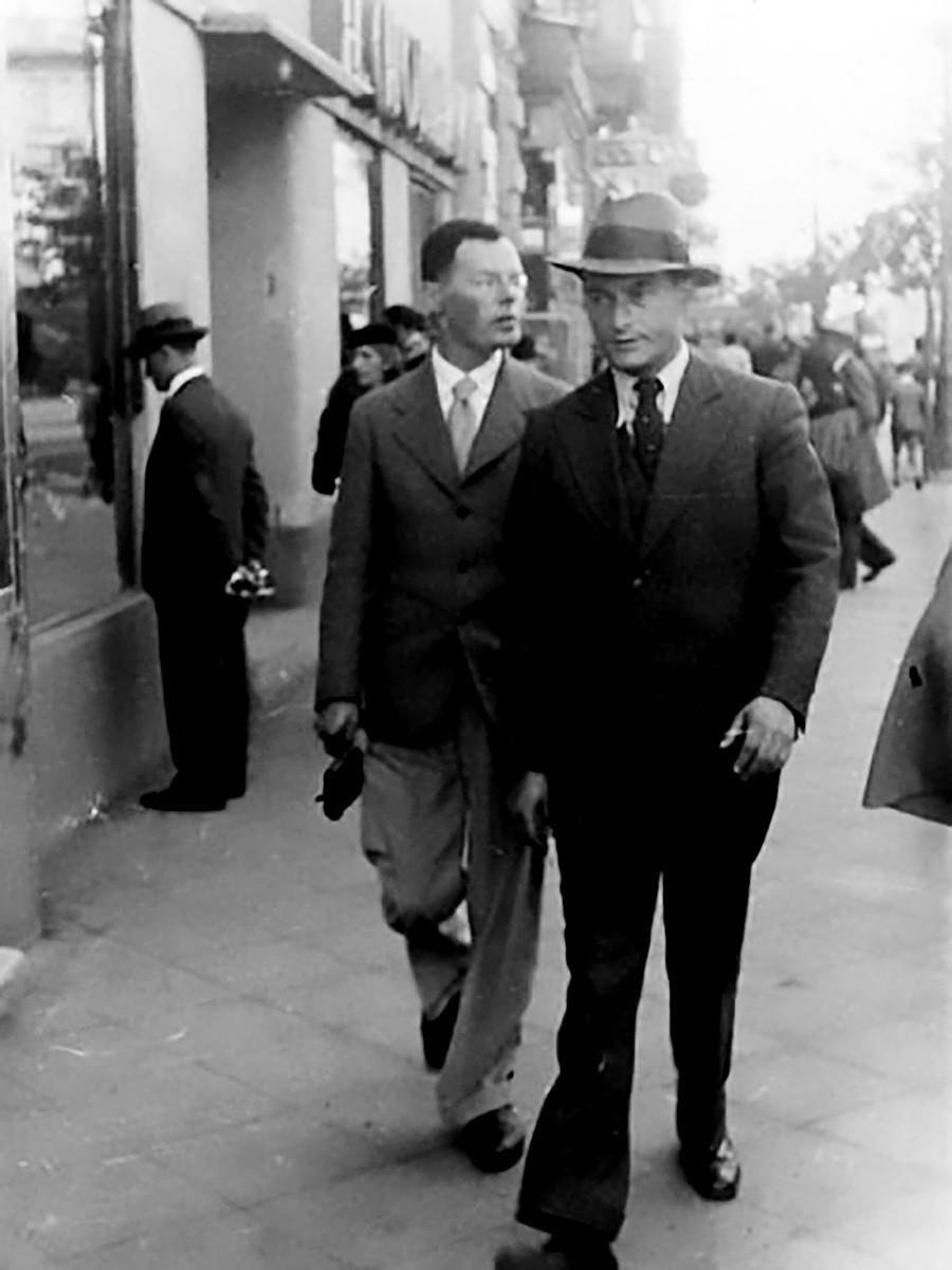 Ilf and Petrov in New York
