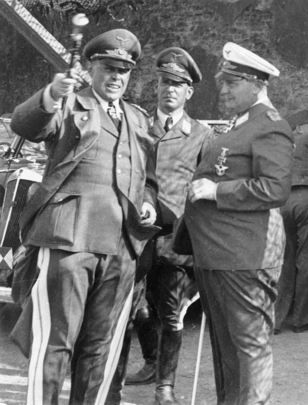 Алберт Кеселринг, Вилхелм Шпайдел, Херман Гьоринг.