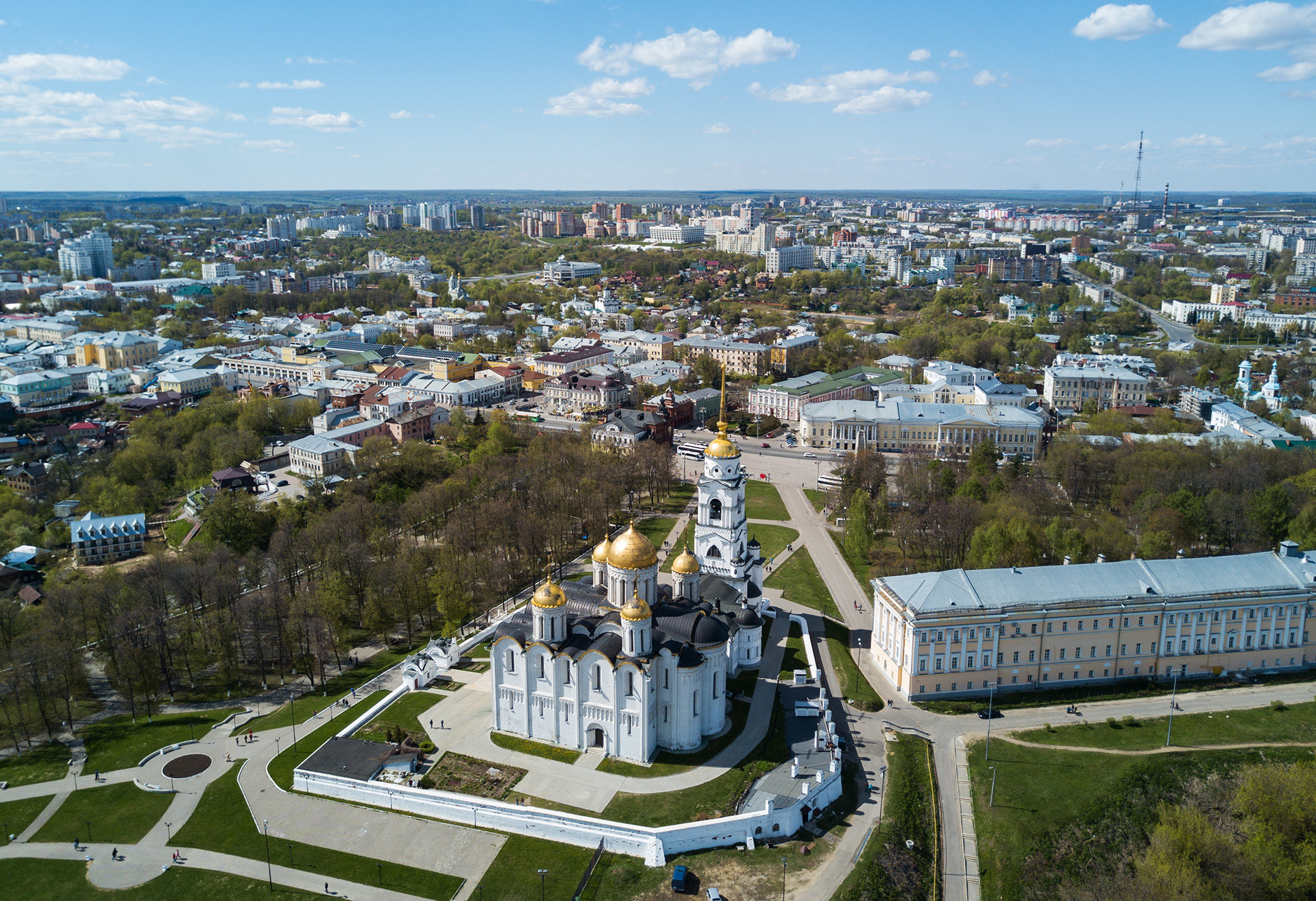 The Dormition Cathedral in Vladimir.