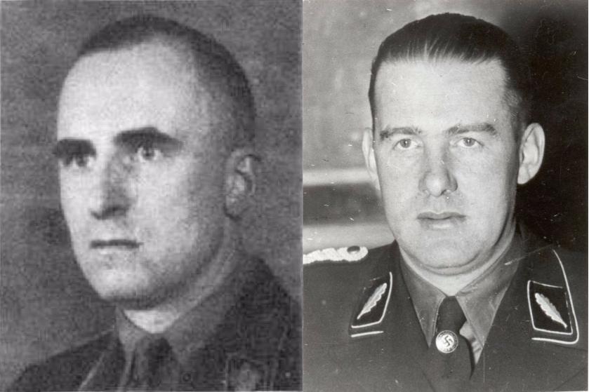 Siegfried Kasche in Odilo Globočnik