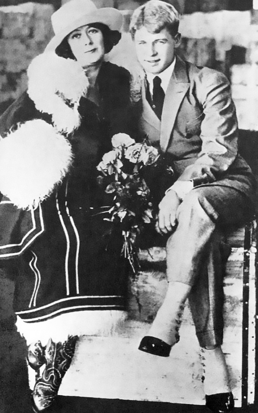 Sergei Yesenin and Isadora Dunkan in the U.S.