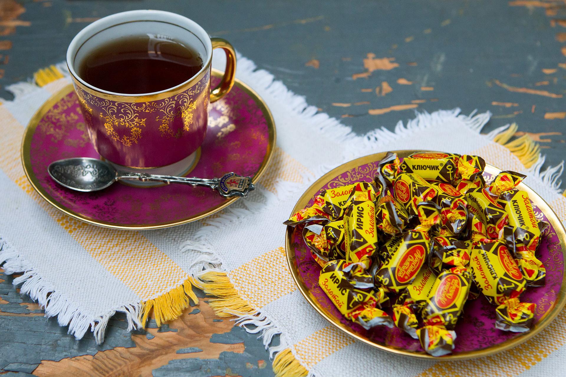 URSS tinha duas marcas de caramelos, favoritos absolutos das crianças de então pelo custo-benefício.