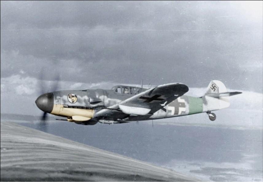 Messerschmitt Me-109.