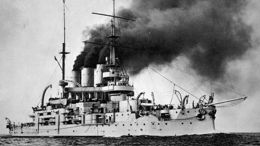 Bojna ladja Potemkin. / fotografija iz zbirke Jurija Černova