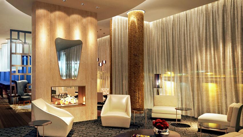 Hilton fica próximo ao Fórum Econômico Internacional de São Petersburgo, que está programado para o fim de outubro.