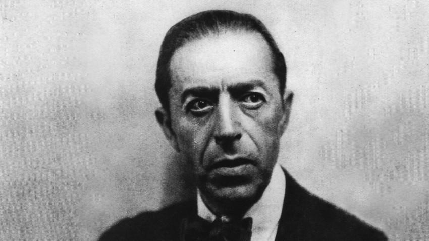 Espía británico Sidney Reilly.