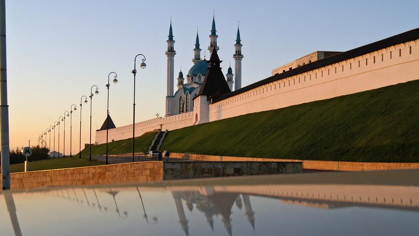 Masjid Kul-Sharif di Kazan, Rusia.