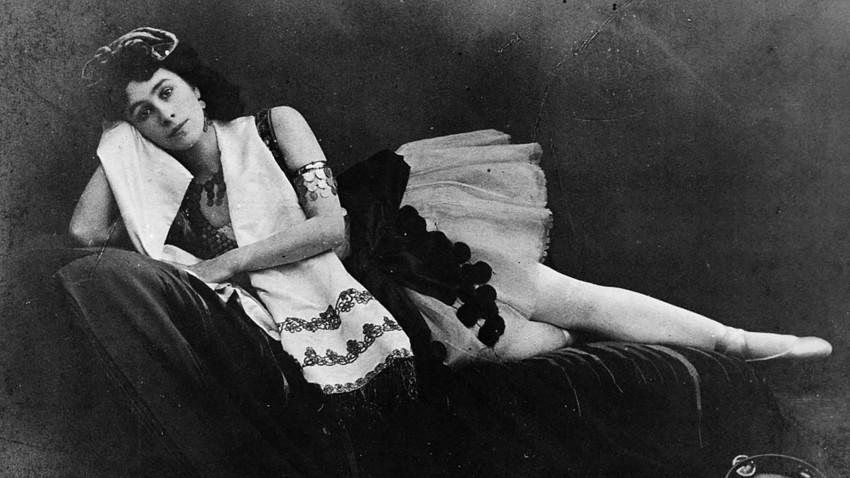 Руската балерина Матилда Кшесинская, 1890-те години.