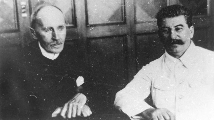 Romain Rolland and Joseph Stalin