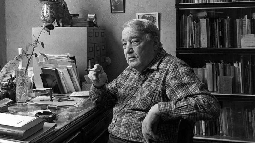 Lev Gumiljov, sovjetski zgodovinar, etnolog in antropolog.