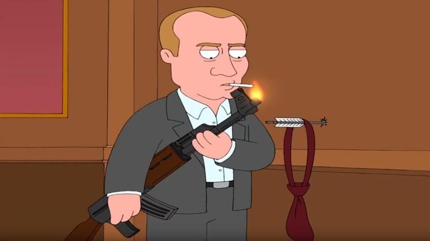 Vladimir Putin v seriji Family Guy