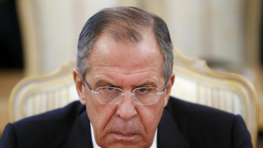 Menteri Luar Negeri Rusia Sergey Lavrov