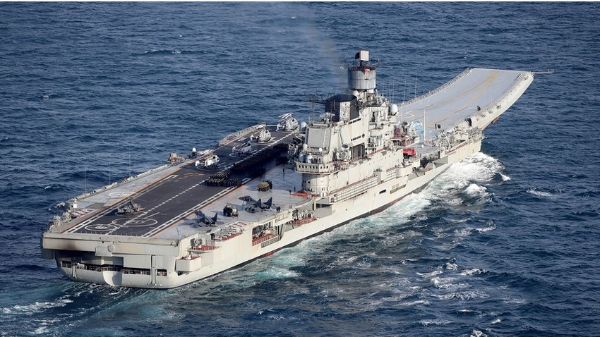 Ruska težka letalonosilka Admiral Kuznecov