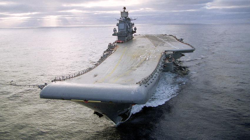 Salah satu tujuan utama kebijakan Rusia saat ini adalah menyeimbangi kekuatan NATO di samudra dunia, serta mempertahankan kepentingannya di Arktik.