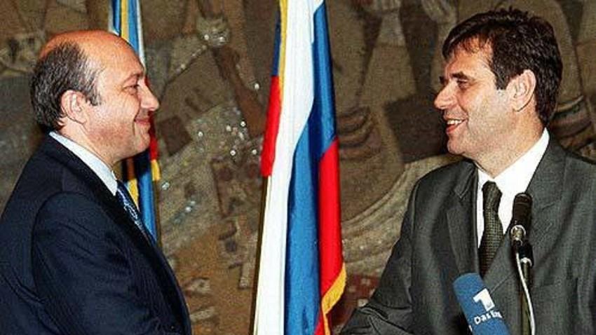Игор Иванов и Војислав Коштуница