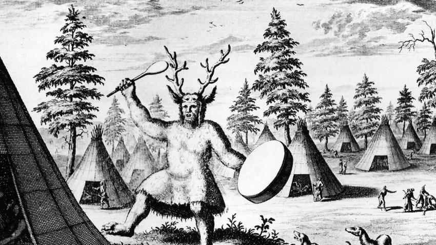 »Šaman ali Hudičev čarovnik«.