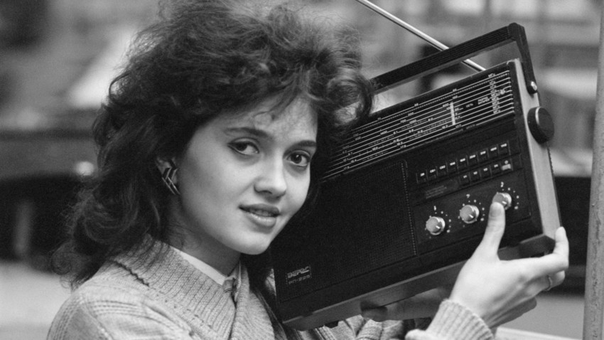 Radio Yunost was the first radio station for the Soviet youth.