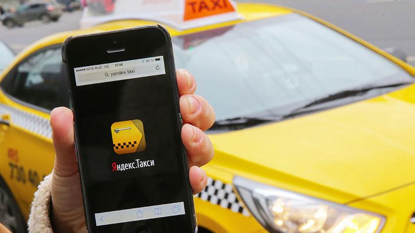 Di Rusia, Yandex.Taxi lebih populer dibandingkan Uber.