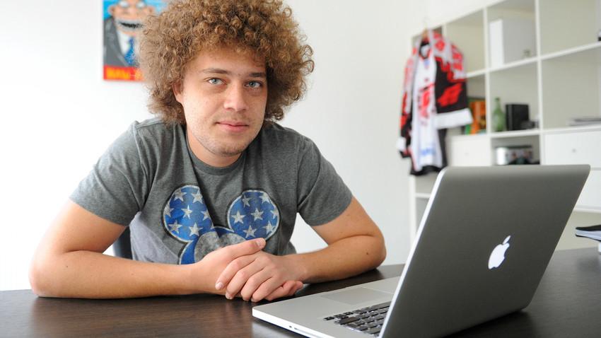 Der bekannte russische Blogger Ilja Warlamow