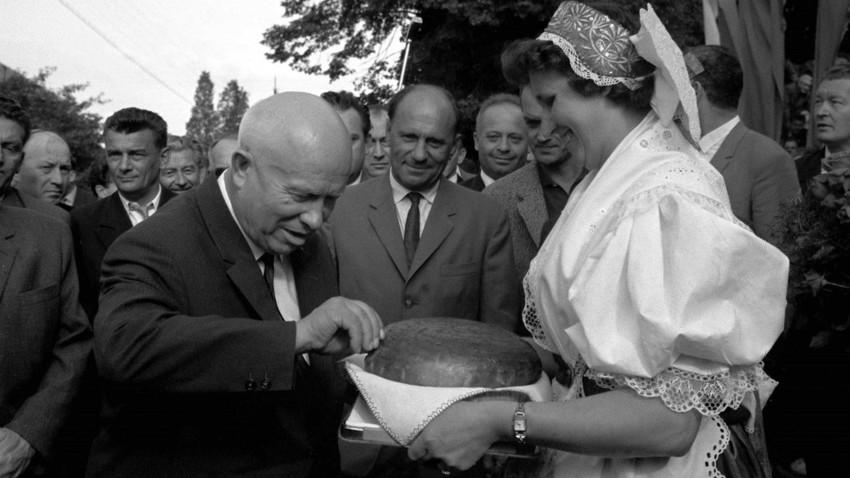 Soviet leaders had different tastes