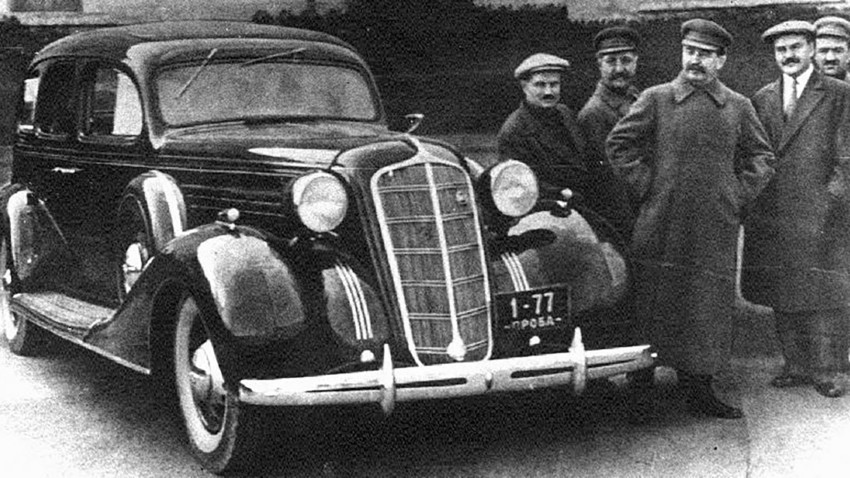 Автомобил ЗИС-101