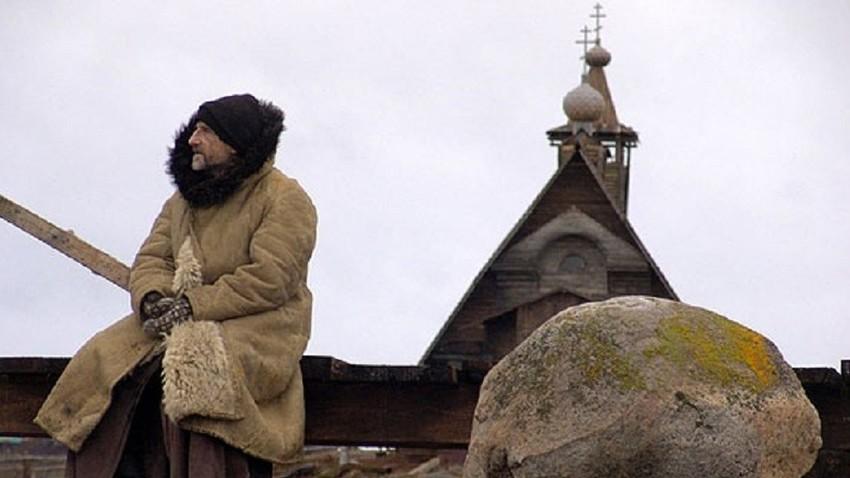 "Петар Мамонов у филму ""Острво"" (2006) Павла Лунгина"