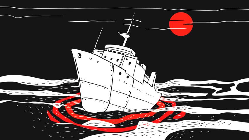 Navios-fantasma existem na Rússia, tanto nos portos quanto à deriva nos mares russos.