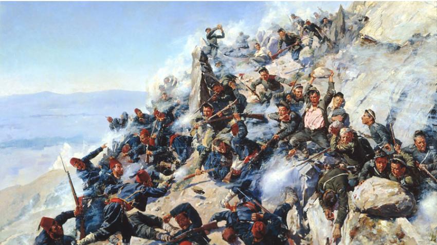V začetku 19. stoletja so se na balkanskem prostoru odvijale številne bitke med Rusijo in Otomanskih cesarstvom.