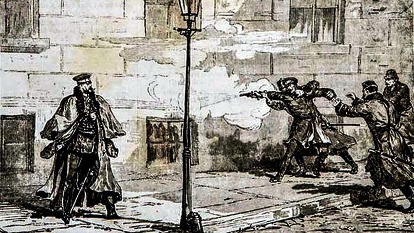 Атентатот врз царот Александар II во 1879