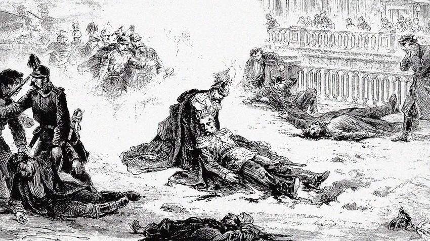 Убиство Александра II, 1881.